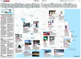 YA presenterar den sydostskånska ansökan till IOK (Ystads Allehanda 2014-03-01).