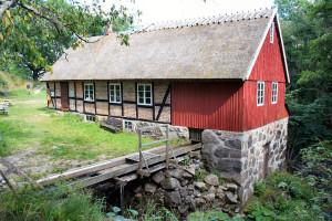 Visning av kvarnen @ Hallamölla kvarn | Ludaröd | Skåne län | Sverige