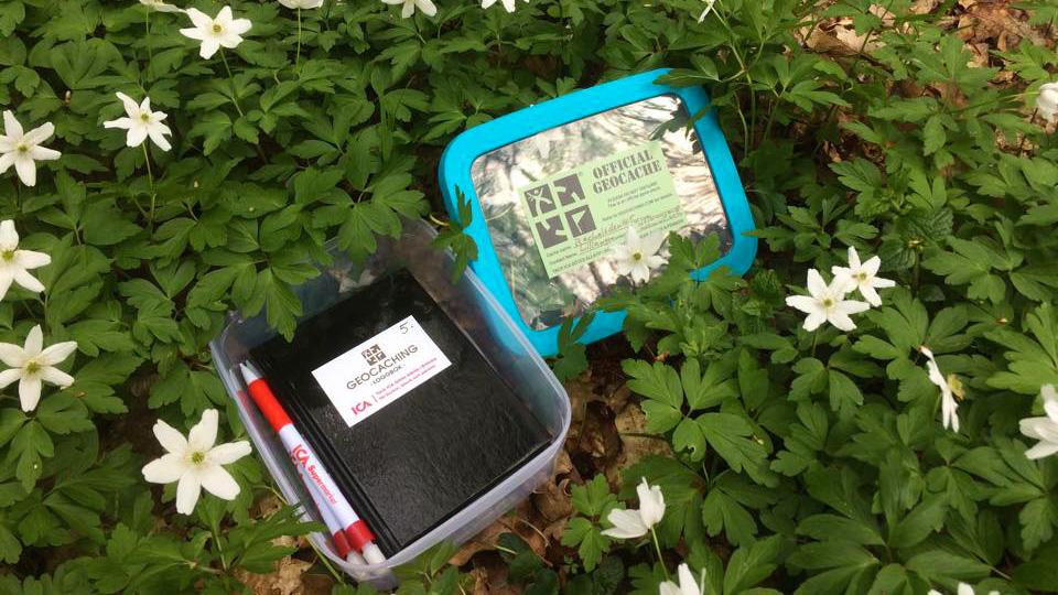 Tack ICA Götes Allköp för burkar, block och pennor! Foto: Ulf Lillängen