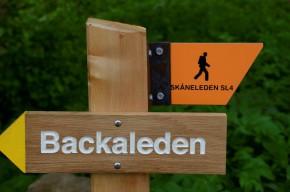 Tillsammans med Skåneleden bjuder Backaleden på hela 46 st olika rundvandringar, från 1 km till 34 km. Foto: Hanseric Jonsgården