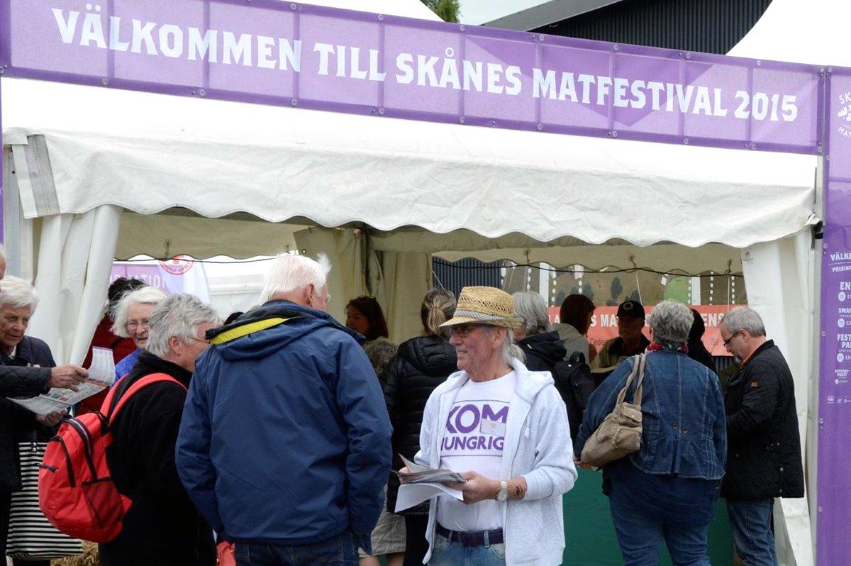 Kom hungrig till Skånes Matfestival i Brösarp! Foto: Hanseric Jonsgården