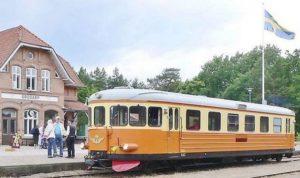 Ljuva 50-tal med ångtåget @ Brösarps station | Skåne län | Sverige