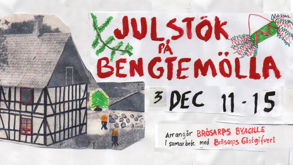 Julstök på Bengtemölla 3 dec