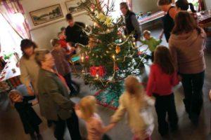 Julmarknad med granförsäljning @ Bygdegården   Eljaröd   Skåne län   Sverige