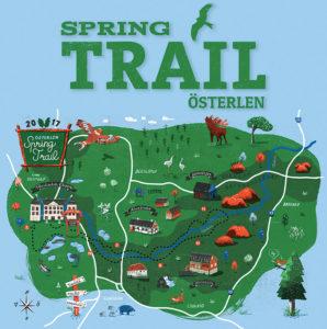 Österlen Spring Trail - vandring @ Christinehofs Ekopark | Skåne län | Sverige