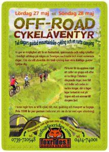 Offroad cykeläventyr @ Foxrides - Ravlunda Cykel | Skåne län | Sverige