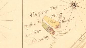 Brösarp/Bröserups Socken och By - avmätning 1787.