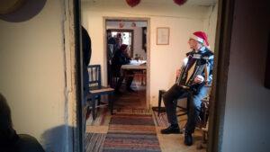 Traditionell julmarknad på Glimmebodagården.