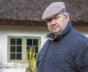 Bertil Wilhelmsson, redaktör för Byahornet.