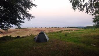 Fredagsmys med magisk utsikt över Haväng och Ravlunda skjutfält.